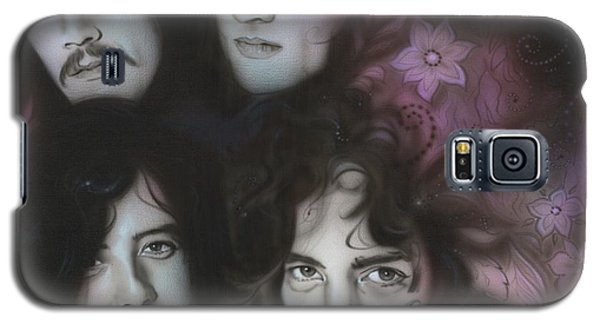Led Zeppelin - ' Zeppelin ' Galaxy S5 Case by Christian Chapman Art