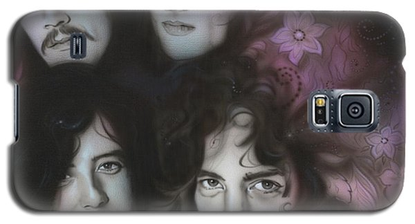 Led Zeppelin - ' Zeppelin ' Galaxy S5 Case by Christian Chapman Art