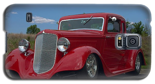 Galaxy S5 Case featuring the photograph 1934 Ford Coupe Hot Rod by Tim McCullough