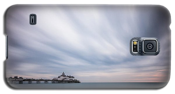 10 Minute Exposure Of Eastbourne Pier Galaxy S5 Case