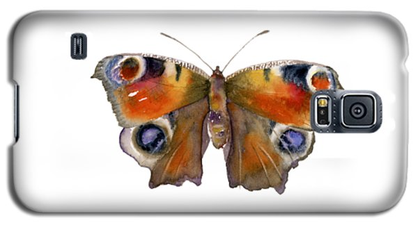 10 Peacock Butterfly Galaxy S5 Case