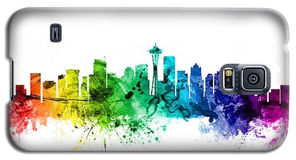 Seattle Washington Skyline Galaxy S5 Case