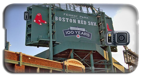 100 Years At Fenway Galaxy S5 Case by Joann Vitali