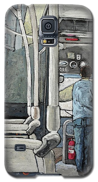 107 Bus On A Rainy Day Galaxy S5 Case