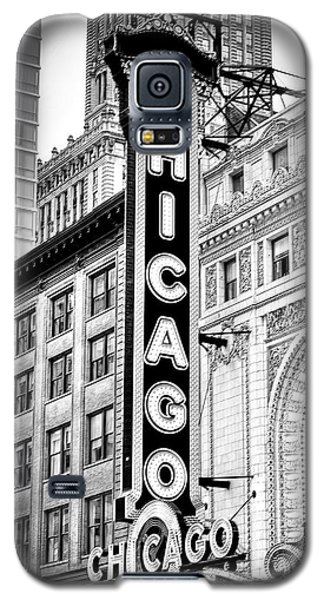1077 Chicago Theater Black And White Galaxy S5 Case
