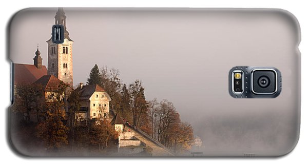 Misty Lake Bled Galaxy S5 Case by Ian Middleton
