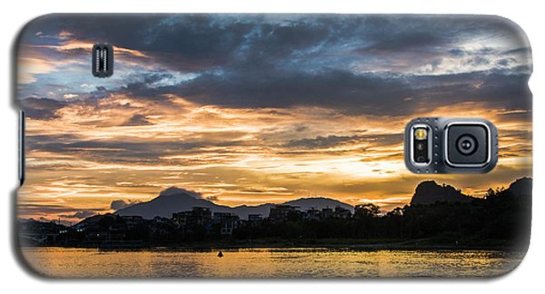 Sunrise Scenery In The Morning Galaxy S5 Case