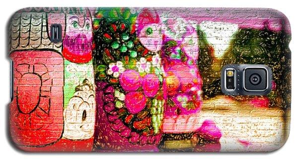 Russian Matrushka Dolls Wall Art Galaxy S5 Case
