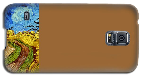 Wheatfield With Crows Galaxy S5 Case