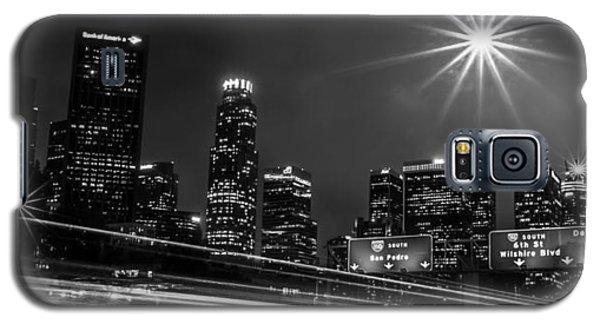 110 Freeway Los Angeles Galaxy S5 Case by April Reppucci