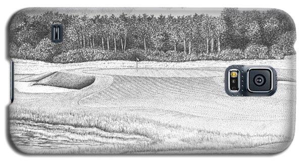 11th Hole - Trump National Golf Club Galaxy S5 Case by Lawrence Tripoli