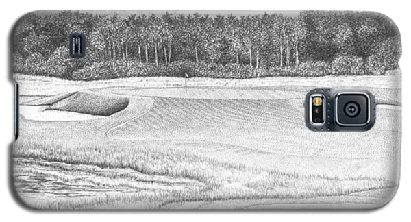 11th Hole - Trump National Golf Club Galaxy S5 Case by Lawrence Tripoli