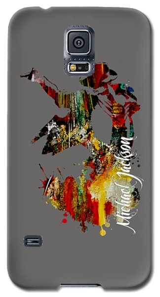 Michael Jackson Collection Galaxy S5 Case by Marvin Blaine