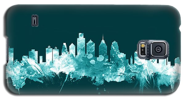 Philadelphia Pennsylvania Skyline Galaxy S5 Case