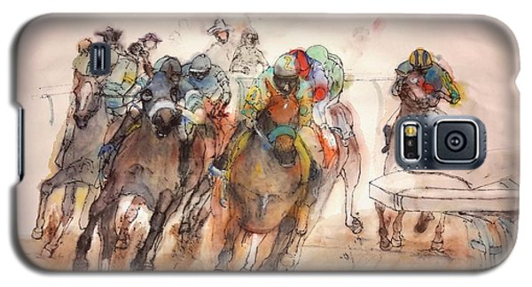 Galaxy S5 Case featuring the painting American  Pharaoh  Album  by Debbi Saccomanno Chan