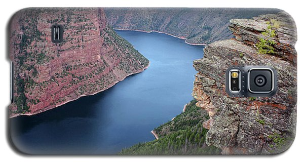 Flaming Gorge National Park Galaxy S5 Case by Ellen Tully