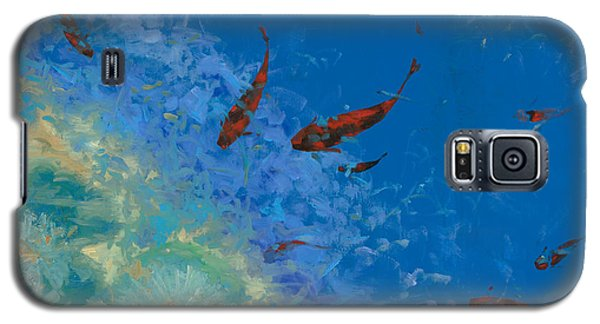 13 Pesciolini Rossi Galaxy S5 Case by Guido Borelli