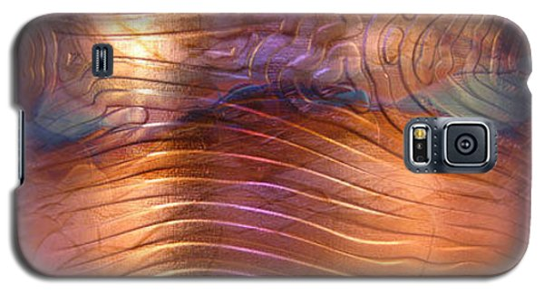 1343 Woodgrain Cuff Bracelet Galaxy S5 Case