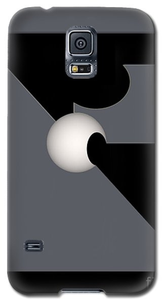 Galaxy S5 Case featuring the digital art 1354-2  2017 by John Krakora