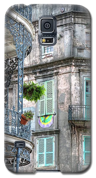 1358 French Quarter Balconies Galaxy S5 Case