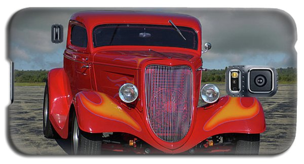 1934 Ford Coupe Hot Rod Galaxy S5 Case