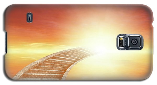 Galaxy S5 Case featuring the photograph Stairway To Heaven by Les Cunliffe