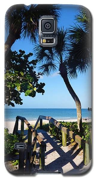 14th Ave S Beach Access Ramp - Naples Fl Galaxy S5 Case