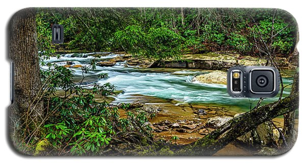 Galaxy S5 Case featuring the photograph Back Fork Of Elk River by Thomas R Fletcher