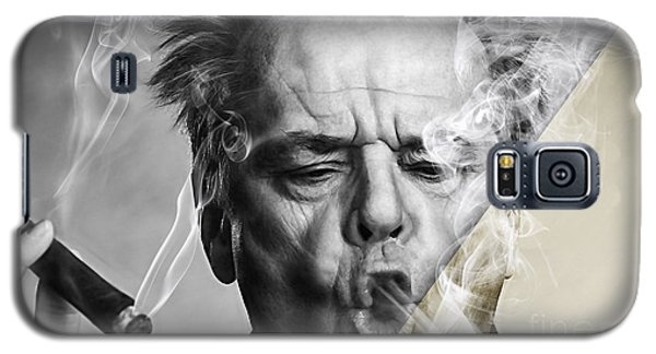 Jack Nicholson Collection Galaxy S5 Case by Marvin Blaine
