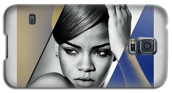 Rihanna Collection Galaxy S5 Case by Marvin Blaine