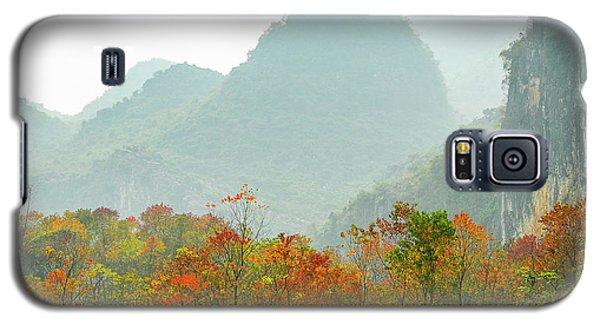 The Colorful Autumn Scenery Galaxy S5 Case