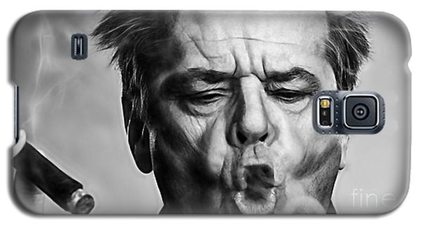 Jack Nicholson Galaxy S5 Case - Jack Nicholson Collection by Marvin Blaine