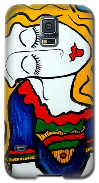 Shy Girl Picasso By Nora Galaxy S5 Case