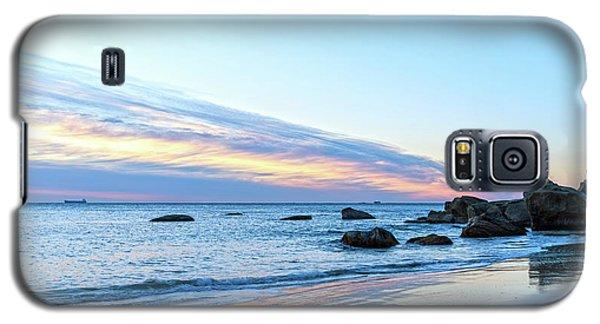 Rocky Daybreak Seascape Galaxy S5 Case