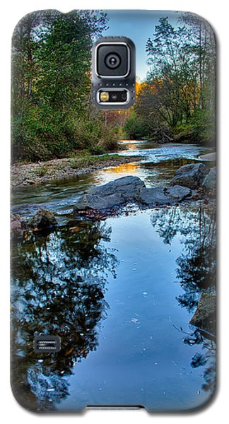 Stone Mountain North Carolina Scenery During Autumn Season Galaxy S5 Case