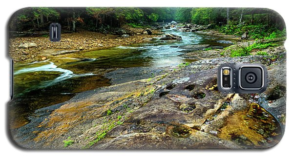 Galaxy S5 Case featuring the photograph Williams River Summer by Thomas R Fletcher