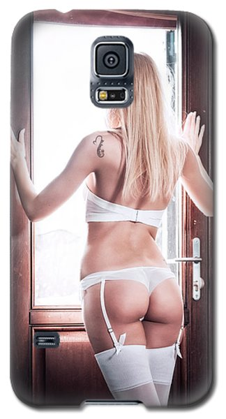 Galaxy S5 Case featuring the photograph .. by Traven Milovich