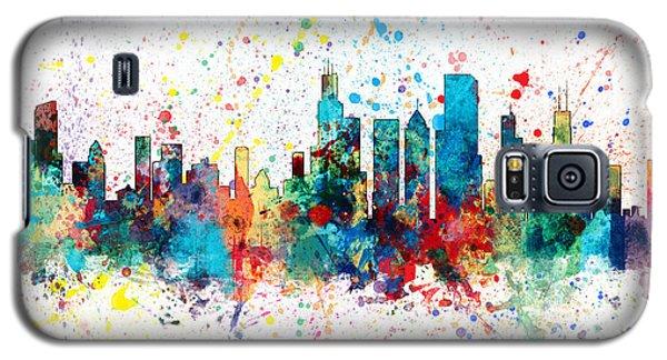 Chicago Illinois Skyline Galaxy S5 Case by Michael Tompsett