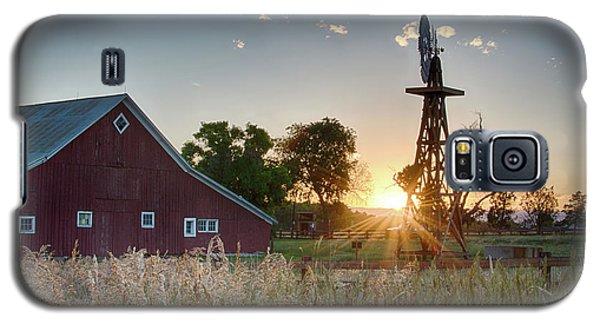 17 Mile House Farm - Sunset Galaxy S5 Case