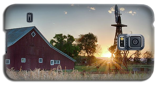 17 Mile House Farm - Sunset Galaxy S5 Case