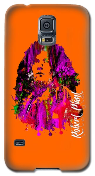 Robert Plant Collection Galaxy S5 Case by Marvin Blaine