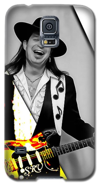 Rock And Roll Galaxy S5 Case - Stevie Ray Vaughan Collection by Marvin Blaine