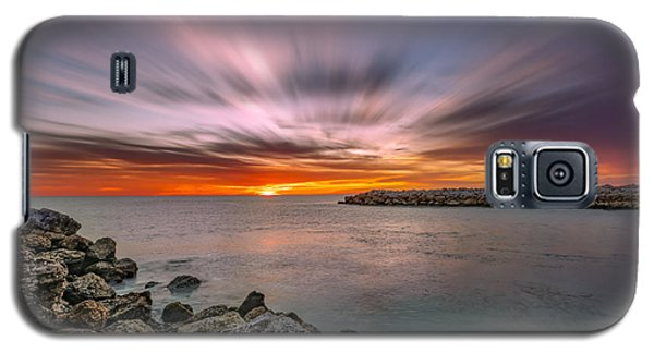 Sunst Over The Ocean Galaxy S5 Case