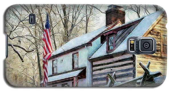 1700's Log House In West Chester, Pa Galaxy S5 Case