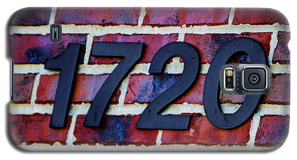 1720 Address Galaxy S5 Case