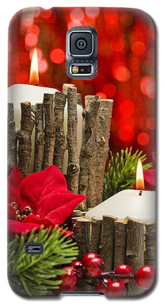 Galaxy S5 Case featuring the photograph Autumn Candles by Ulrich Schade
