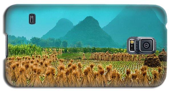 Beautiful Countryside Scenery In Autumn Galaxy S5 Case
