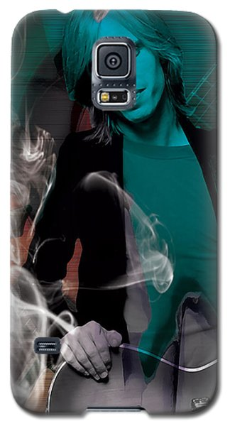 Galaxy S5 Case featuring the mixed media Tom Petty Collection by Marvin Blaine