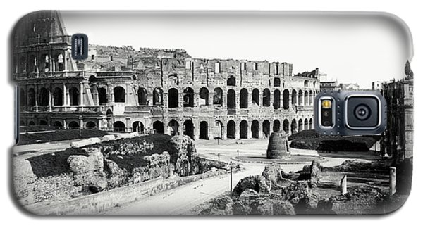 Galaxy S5 Case featuring the photograph 1870 The Colosseum Of Rome Italy by Historic Image