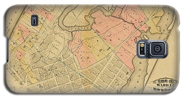 1879 Inwood Map  Galaxy S5 Case